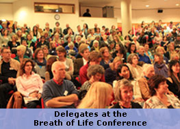 Delegates at the Breath of Life Conference