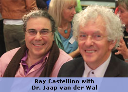 Ray Castellino with Dr. Jaap van der Wal