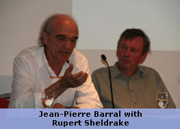 Jean-Pierre Barral with Rupert Sheldrake